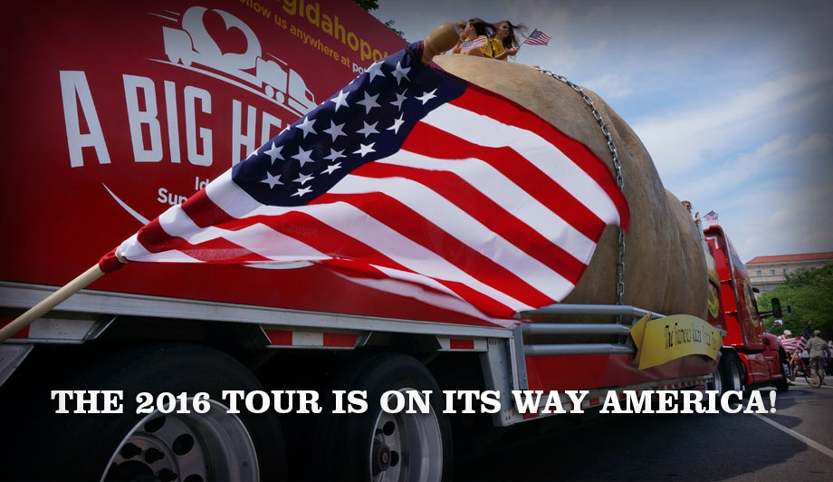 The 2016 Tour Is On Its Way America!