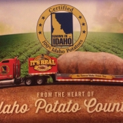 big idaho potato postcard