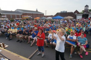 It is always great when the whole town rallies!