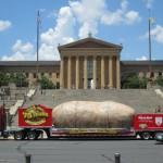 The 'Rocky Steps'- Philadelphia Museum of Art