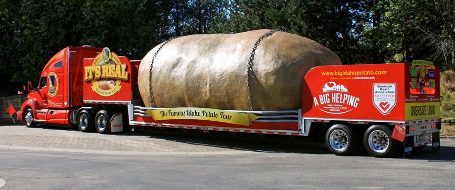 The Truck – Big Idaho Potato