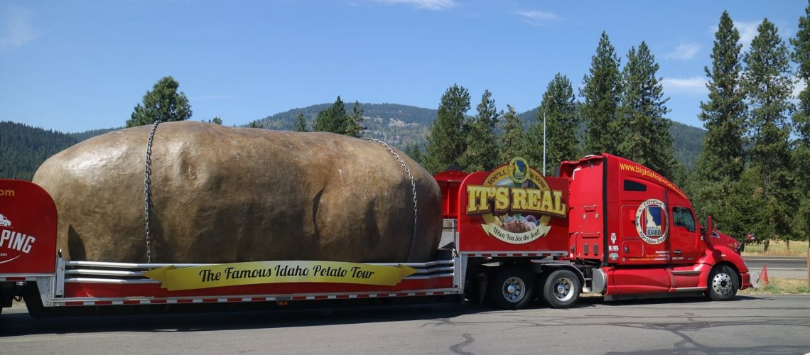 The Truck in beautiful Rathdrum Idaho!